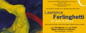 Ferlinghetti e le sue opere pittoriche