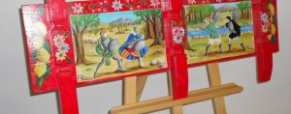 Un'arte tra tradizione, colori e narrazione
