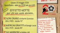 """Effetto notte"", una maratona lunga quattro film"