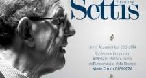 Laurea honoris causa in Architettura al prof. Settis