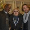 Livoti a Roma in qualità di critico d'arte per la mostra di Maria Malara