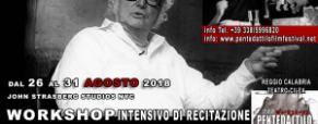 John Strasberg per la prima volta in Calabria per un workshop nell'ambito del Pentedattilo Film Festival