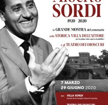 Grande mostra nella villa romana di Sordi per celebrare i cento anni dalla nascita dell'attore