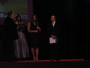 Pupi Avati durante la premiazione