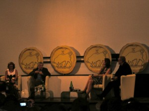 De Niro durante la masterclass a Taormina