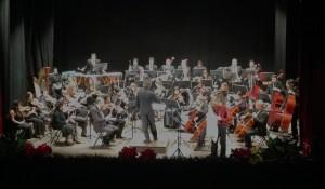 L'Orchestra sinfonica del Cilea e il Maestro Parisi