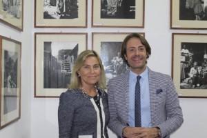 La vice presidente D'Agostino e il presidente Livoti