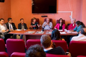 La conferenza stampa di presentazione di Ecojazz (Foto Marco Costantino)