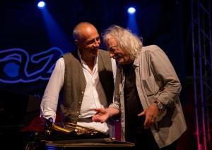 Danilo Rea ed Enrico Rava (Foto Marco Costantino)