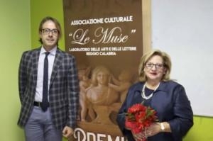 Il presidente Livoti e la nuova vice presidente Latella