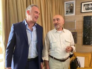 Rigel Bellombra e Ivano Marescotti